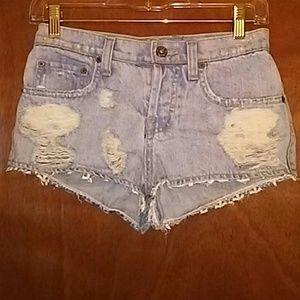 Carmar Jean Booty Shorts
